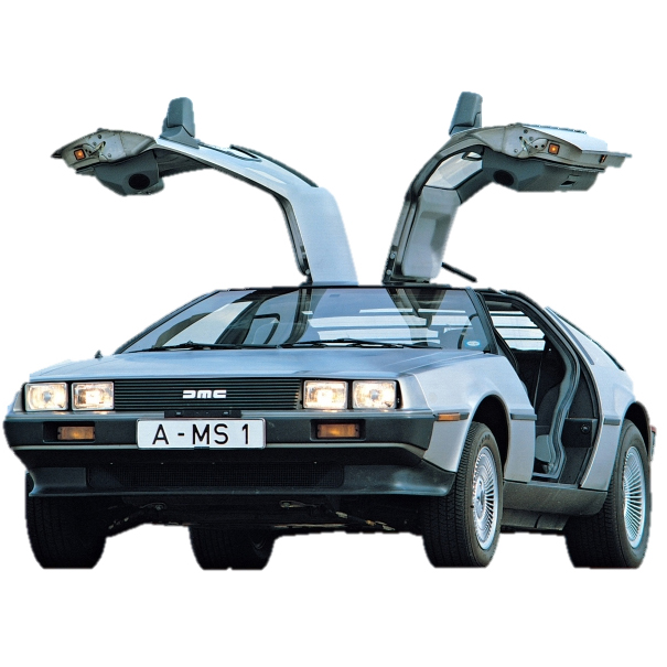 DMC Delorean Car Mats